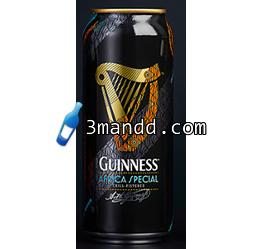 Guiness Africa Special Can 33cl x24