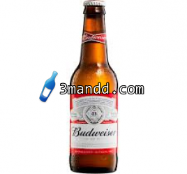 Budweiser bottle 37.5cl x 24