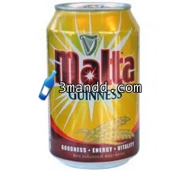 Malta Guiness Can 33cl x24